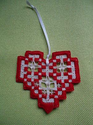 Valentine Hardanger Heart