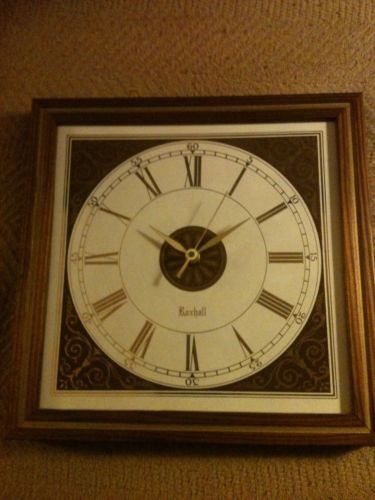 Vintage Retro Roxhall Wall Clock