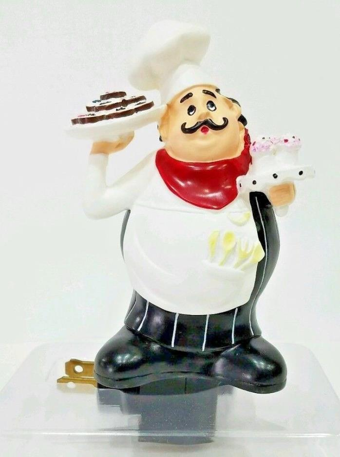 Fat Chef Time To Make The Cupcakes Nightlight Home Decor