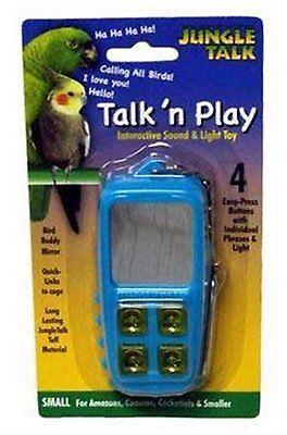 Toys Jungle Talk Pet Products BJN47010 Play Phone Bird Interactive Toys, Large