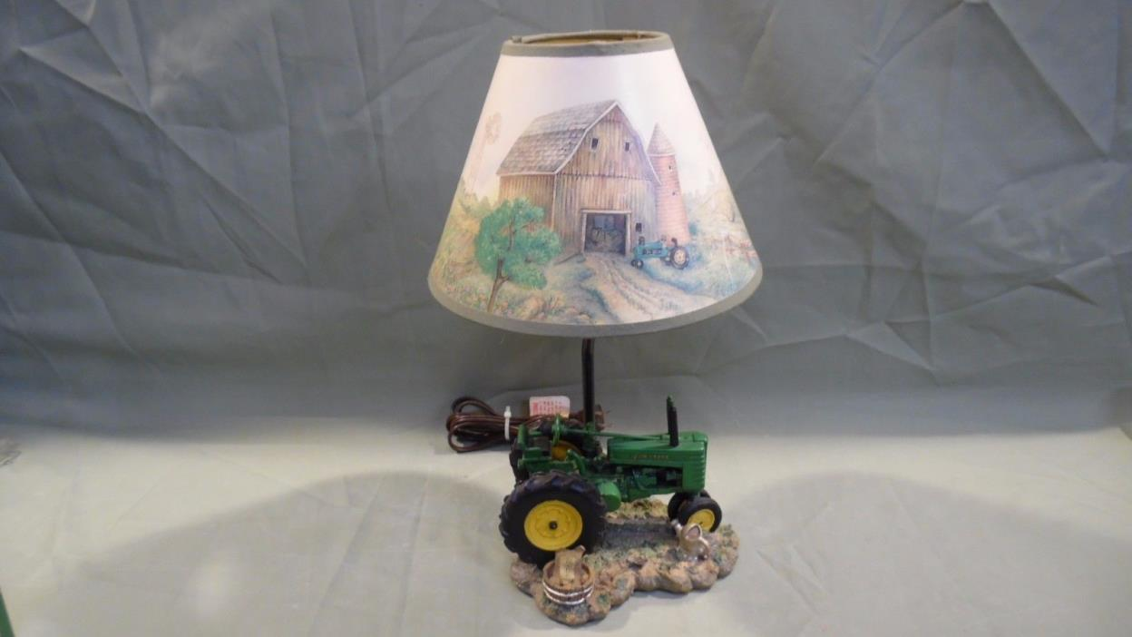 Vingage John Deere Table Lamps : John deere lamp shade for sale classifieds