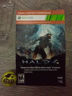 Xbox 360: Halo 4: Fotus Armor (BONUS ITEMS INCLUDED!!)