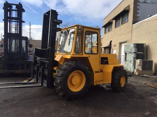Sellick Diesel Rough Terrain 8000 Pound Forklift SD-80