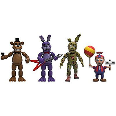 Accessories Funko Five Nights at Freddys 4 Figure Pack (Set 2), 2-Inch