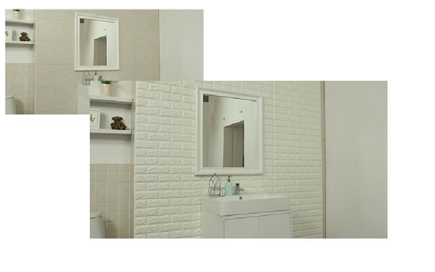 Foam Stone Brick Wall Sound Blocking with Adhesive Backing