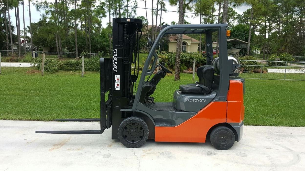 Toyota Forklift West Palm Beach Fl