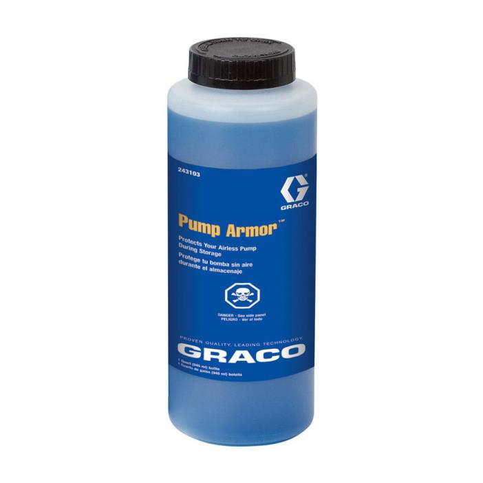 Graco Airless Paint Sprayer Conditioner and Protectant Repair and Accessories