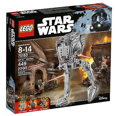 LEGO STAR WARS AT-ST Walker 75153 ROGUE ONE MOVIE. NEW!