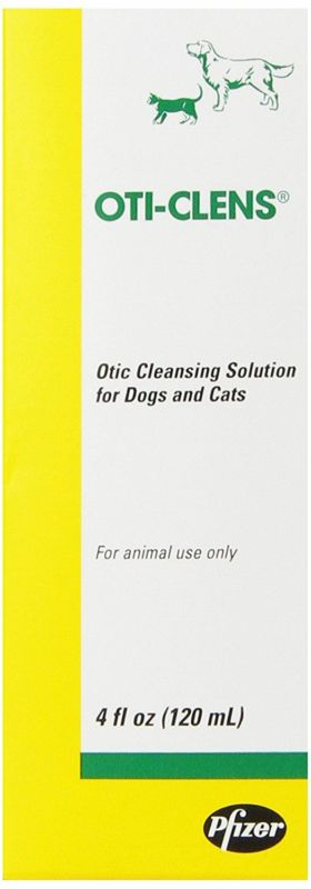 Fort Dodge Oti-Clens Cleansing Solution, 4-Ounce