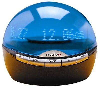 Olympia Info Globe Digital Caller ID Real Time Clock OL3000 Calendar Messages