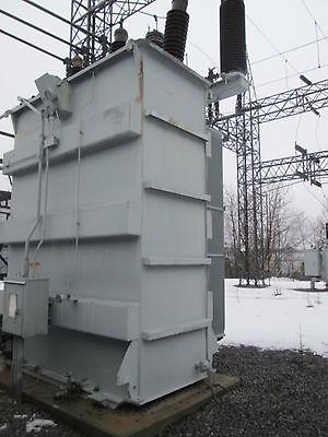 General Electric 3Ph 115,000-139,000 Y Transformer 22,400 Kva Sub Station
