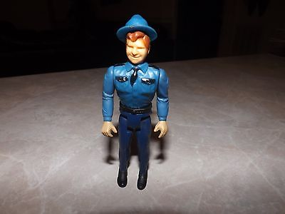 VINTAGE 1981 ROSCO DUKES OF HAZZARD FIGURE WARNER BROS./MEGO