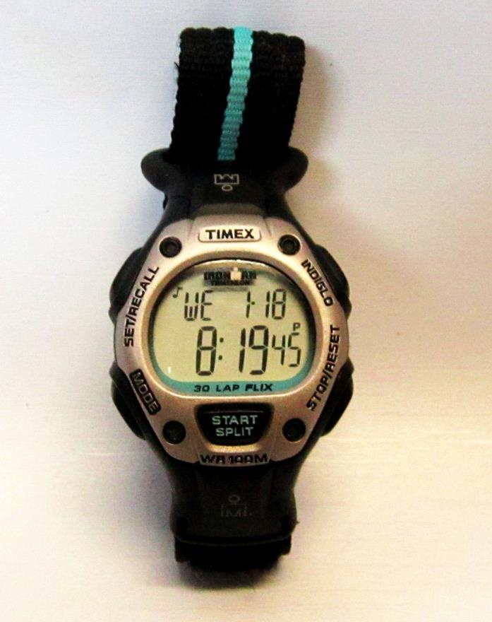 Timex Ironman 30 Lap Watch with Velcro Band