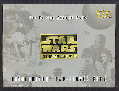 The Empire Strikes Back Star Wars Customizable Card Game NEW factory-sealed 1996