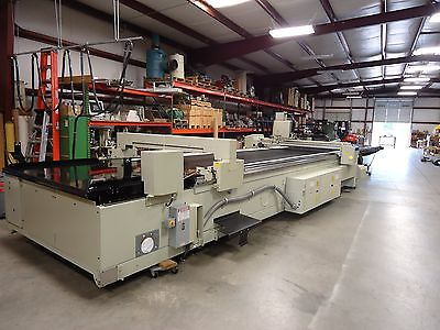 GERBER cutter S-91-TCW C200 High-Ply Traveling Conveyor