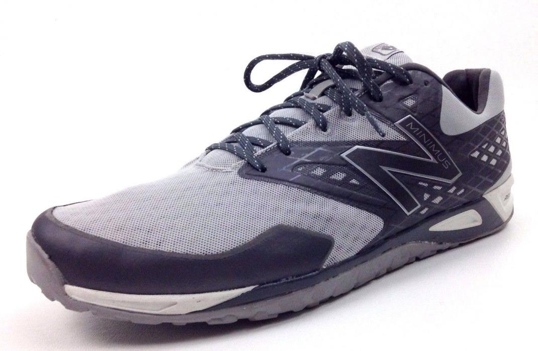 New Balance Minimus Running Shoes Trail Training Sneakers Gray Men's Size 14 D