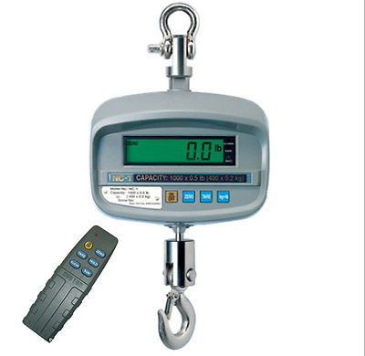 CAS NC-1-1000, 1000 x 0.5 lb, LCD Display, NTEP - Legal for Trade
