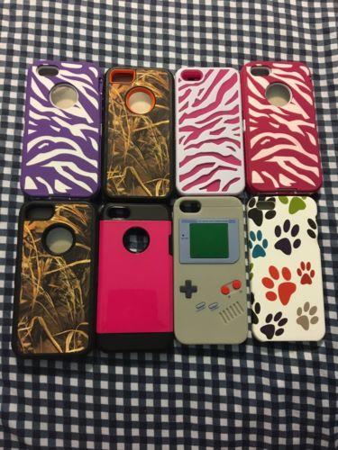 lot of iphone 5 cases