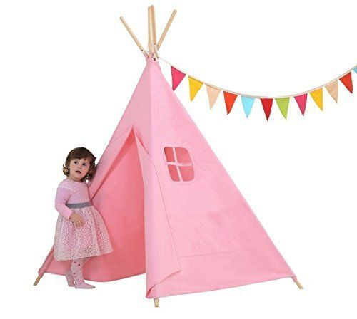 Dream House Sturdy Children Playhouse Canopy Tent