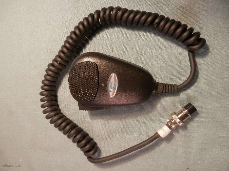 PROCOMM POWER MIC CB RADIO 5 Pin Plug - NEW