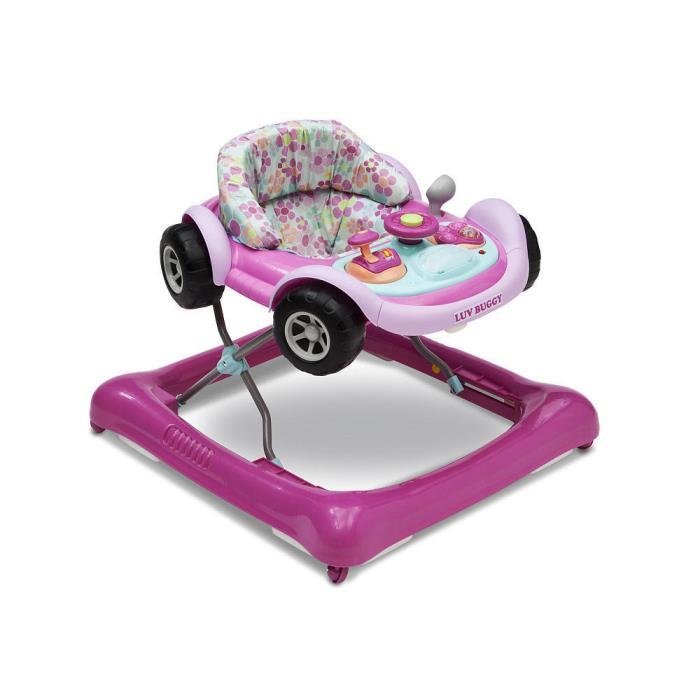 Children Lil' Drive Baby Activity Walker Pink