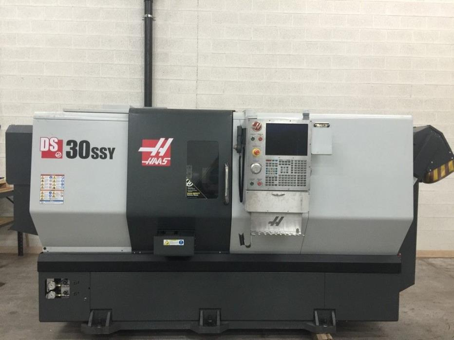 2015 Haas DS-30SSY CNC Lathe-Turning Center # 7787677