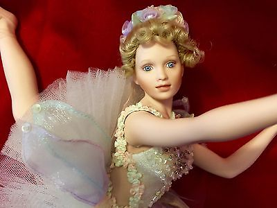 RARE Ashton Drake Galleries Porcelain Ballerina Ballet Doll Larissa Collectible