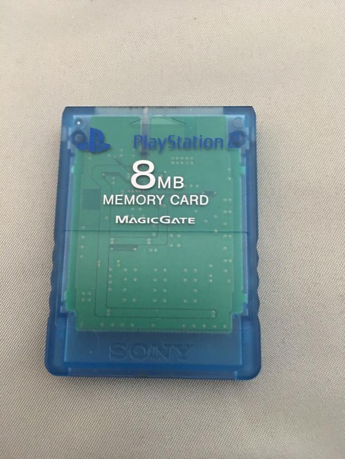 Sony Playstation 2 Memory Card 8MB - Blue