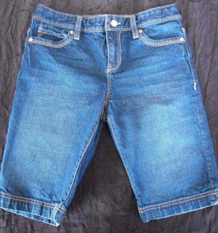 Old Navy Girls Bermuda Jean Shorts size 16 Summer Denim