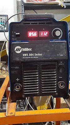 Miller XMT304 Inverter Multi Process Welder MIG TIG Stick Arc Pulse Capable