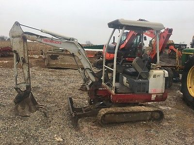 Takeuchi TB-16 Mini Excavator  VIDEO
