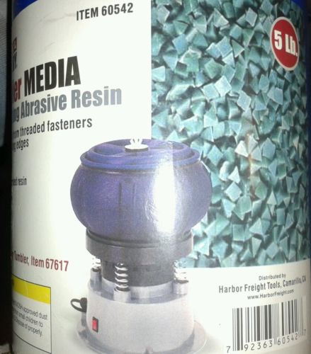 5 lb. Rust-Cutting Resin Abrasive Tumbler Sand Blast Vibratory Blaster Media