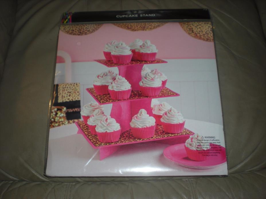 Cupcake Stand Bakery 3 Tier Baking Supplies Decorating Home & Kitchen Decor New