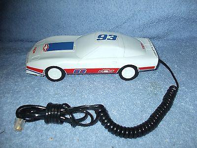 Vintage 1980s EXXON Corvette Challenge Race Car #93 Touch Tone Telephone