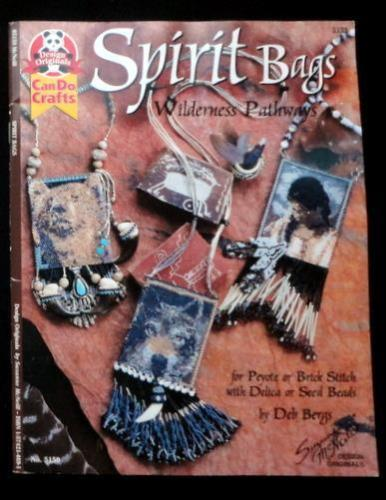 SPIRIT BAGS Wilderness Pathways for Peyote-Brick Stitch Beading Delica-Seed Bead