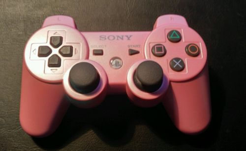 Official Sony PlayStation 3 DualShock 3 Controller - PINK - Genuine PS3 OEM