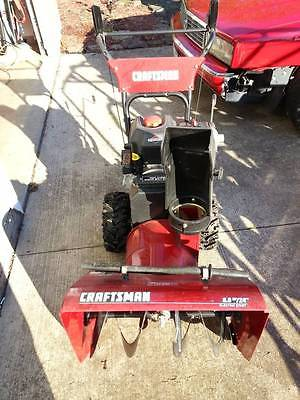 CRAFTSMAN SNOW BLOWER 6hp/ 24