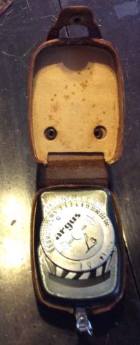 ARGUS L3 Exposure, light Meter made in W.Germany w/ CASE