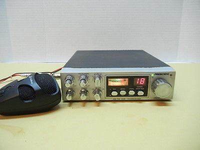 PRESIDENT JACKSON CB Radio Transceiver AM FM SSB MULTIBAND RIG / COBRA
