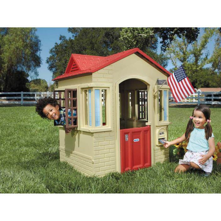 Little tykes outdoor playhouse for sale classifieds Outdoor playhouse for sale used