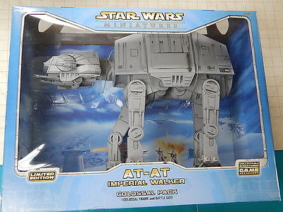 Wizards of the Coast Star Wars AT-AT IMPERIAL WALKER     Mint in box