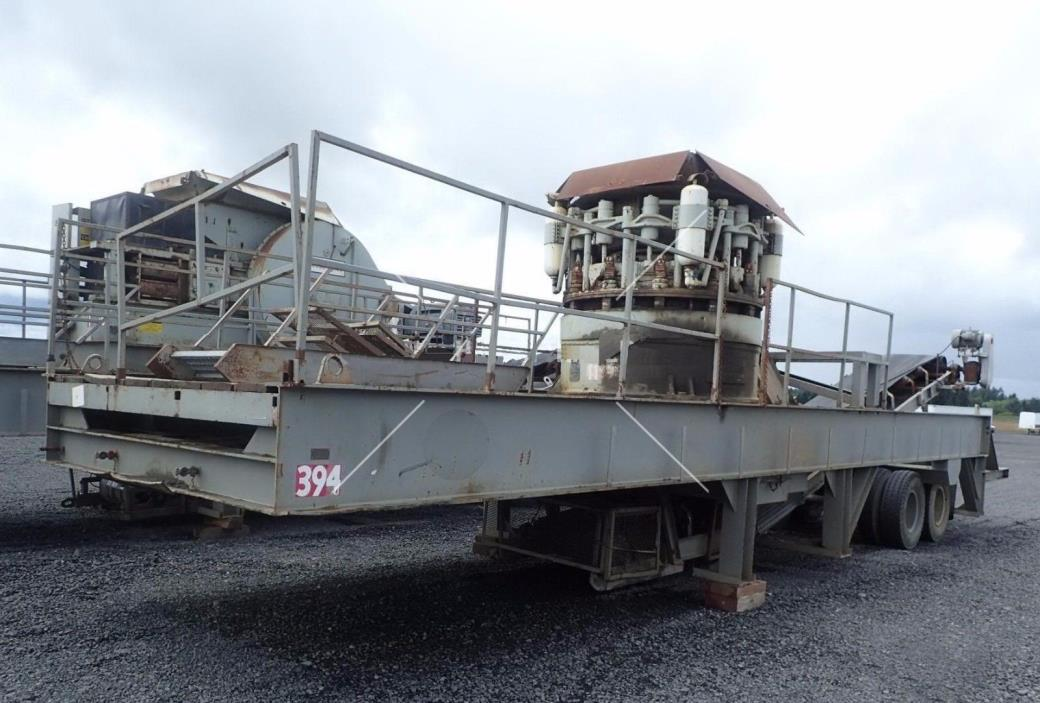 "EL-JAY Portable 54"" Roller Cone Crushing Plant"