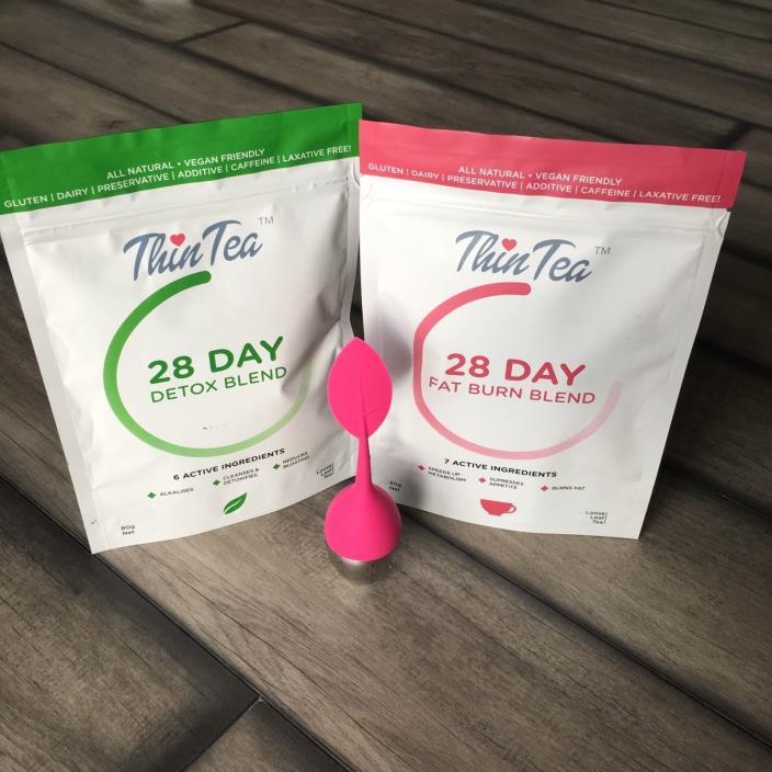 ThinTea 28-day Fat Burn & Detox blend BEST SELLER weight loss