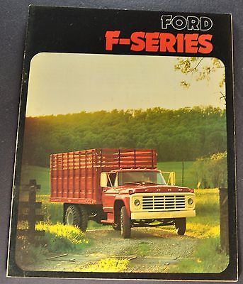 1974 Ford F-Series Truck Brochure F-500 600 700 750 Excellent Original 74