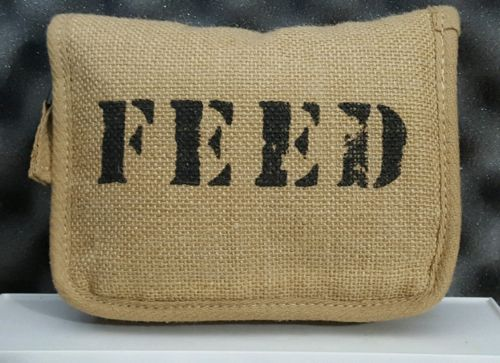 Feed The Children Of The World 100 Burlap Canvas Tote Bag Whole Foods