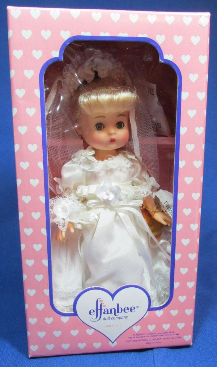 Effanbee 9 Inch Lil Innocence Bride Doll – NRFB