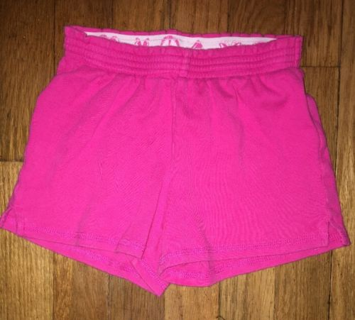 ! the childrens place solid pink active play gym pj shorts bottoms small 5 - 6