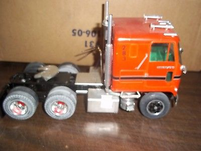 BUILT CHEVY TITAN COE SEMI TRUCK AWESOME