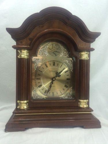 Westminster Chime Quartz Mantel Clock Tempus Fugit