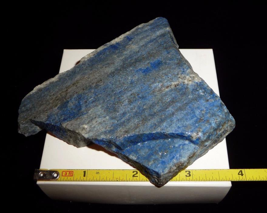 DINO: Wonderful LAPIS LAZULI Rough - Lapidary Rough- 274 grams- Pakistan